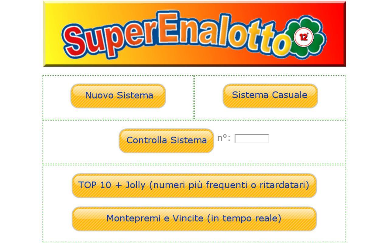 SuperEnalotto 12+ - screenshot