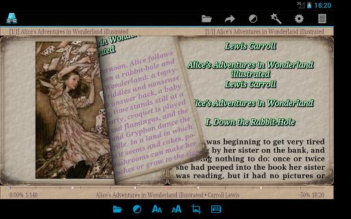 AlReader -any text book reader 1.911805270 screenshots 17