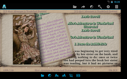 AlReader -any text book reader Screenshot