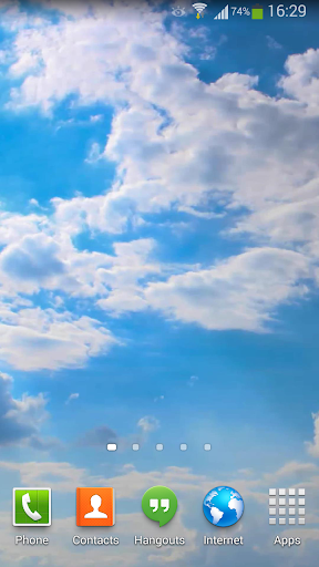 Clouds Live Wallpaper HD 5