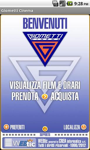 Webtic Giometti Cinema