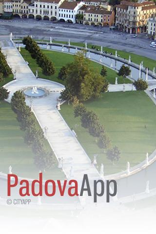 PadovaApp - screenshot