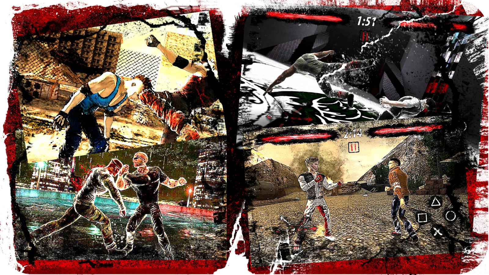 لعبة القتال المدهشة للاندرويد Unreal Fighter v1 012