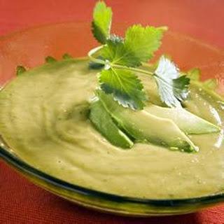 Avocado And Coriander Soup