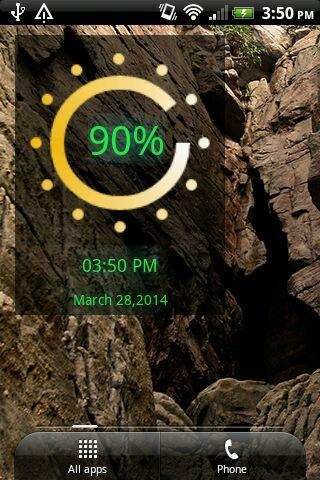 Colorful Battery Widget