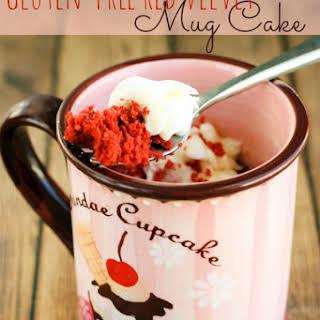 Gluten-Free Red Velvet Mug Cake.