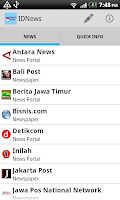 Screenshot of IDNews (Berita Indonesia)