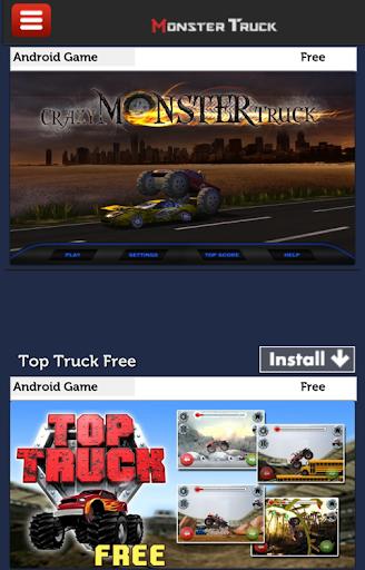 怪物卡車賽車遊戲