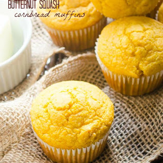 Butternut Squash Cornbread Muffins and an Amazon Giveaway!