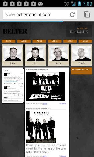 Belter Official App