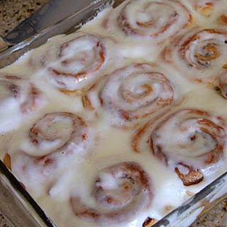 Make- Ahead Cinnamon Rolls.