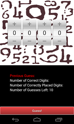4D10T: Guess the Number