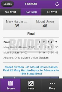 Mount Union Front Row- screenshot thumbnail