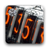 Nixie Clock Widget Deluxe