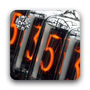 Nixie Clock Widget Deluxe 個人化 App LOGO-APP試玩