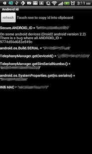 Android Id Info - screenshot thumbnail