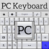 PC Keyboard White