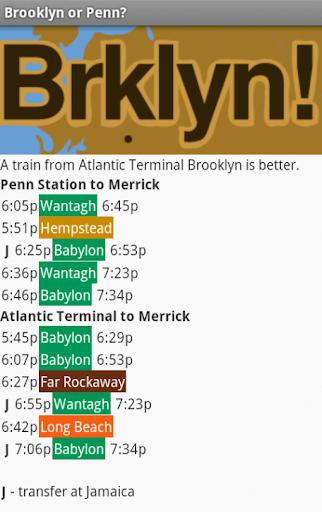 Brooklyn or Penn