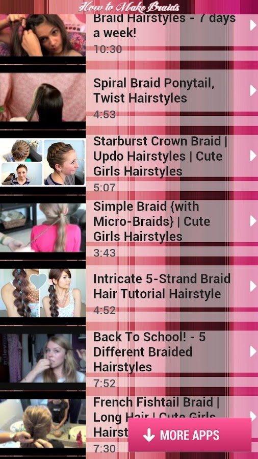 How to Make Braids - screenshot