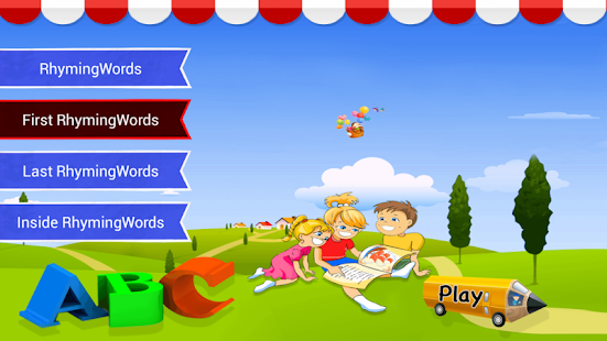 Little Rhyming Words Free - Android Apps on Google Play