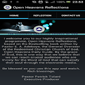 Open Heavens Reflections
