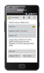 Task Radar - Task List- screenshot thumbnail