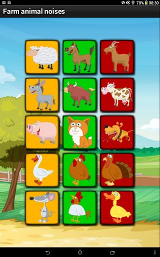 Farm animal noises