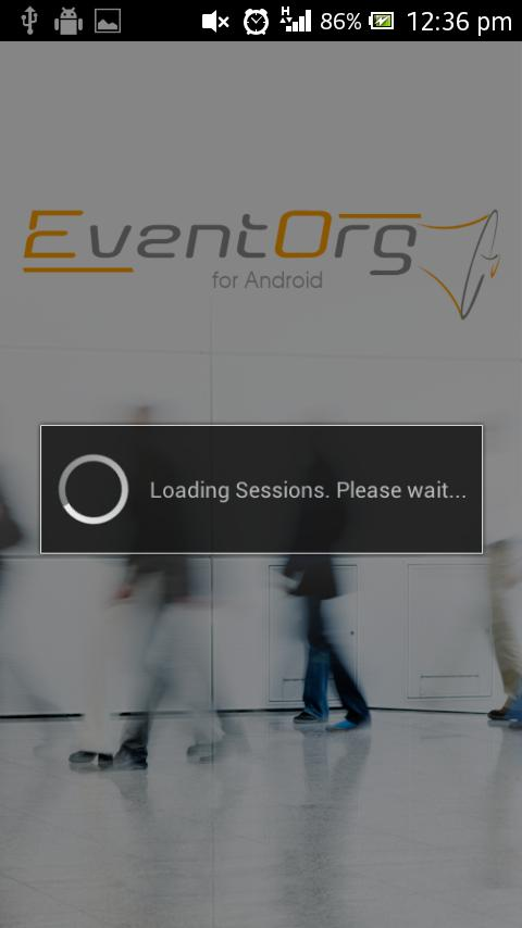 EventOrg - screenshot