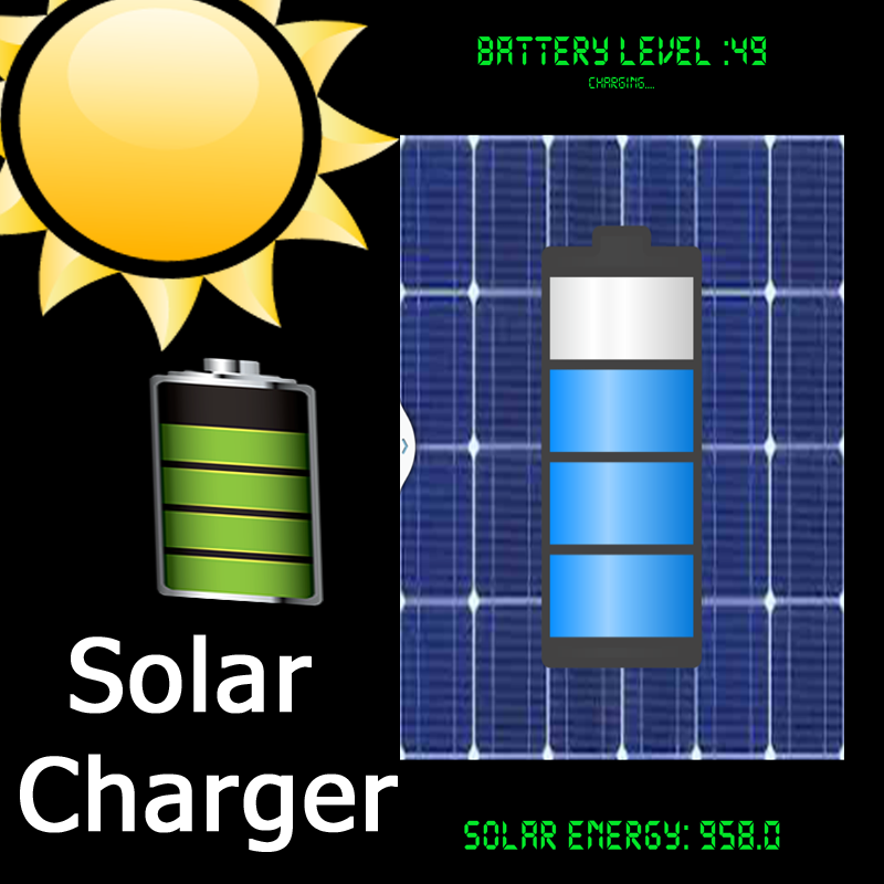 Solar Charger Android AppPrank- screenshot