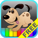 Kids Animal Piano Free logo