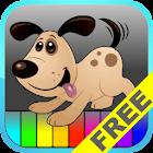 Piano con Animales para Niños icon