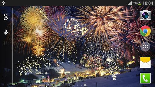 Fireworks Live Wallpaper 2018 1.2.1 screenshots 8