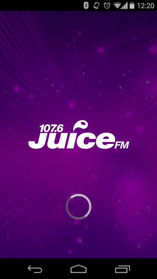 Juice FM Radio, Liverpool- screenshot