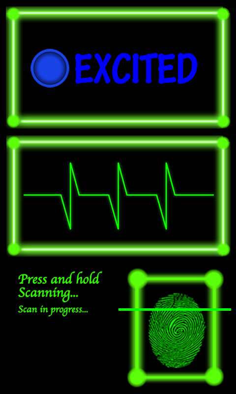 Fingerprint Scanner, Mood Scan - screenshot