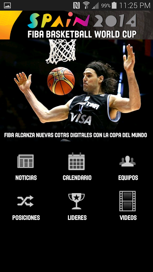 FIBA Americas- screenshot