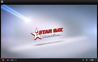 Screenshot of StarSat International