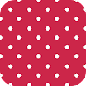 RED POLKA DOT ♥ GO LAUNCER logo