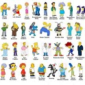 Simpsons characters' draw icon