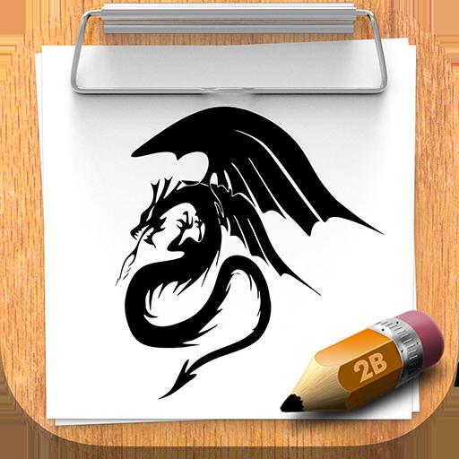 如何畫動物紋身 教育 App Store-癮科技App