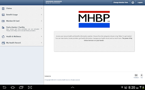 MHBP℠ Mobile- screenshot thumbnail