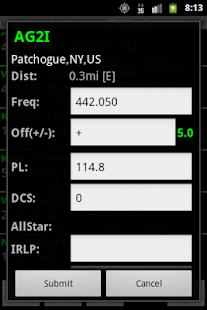 RFinder Worldwide Repeater Dir - screenshot thumbnail