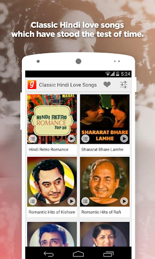 Classic Hindi Love Songs