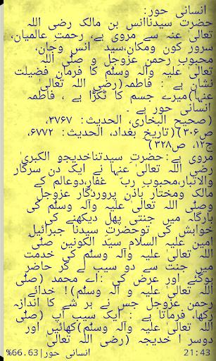 Hazrat Fatima K Halat-e-Zindgi