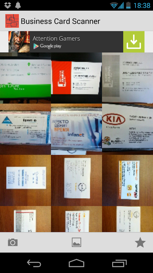 Business Card Scanner Android Apps on Google Play