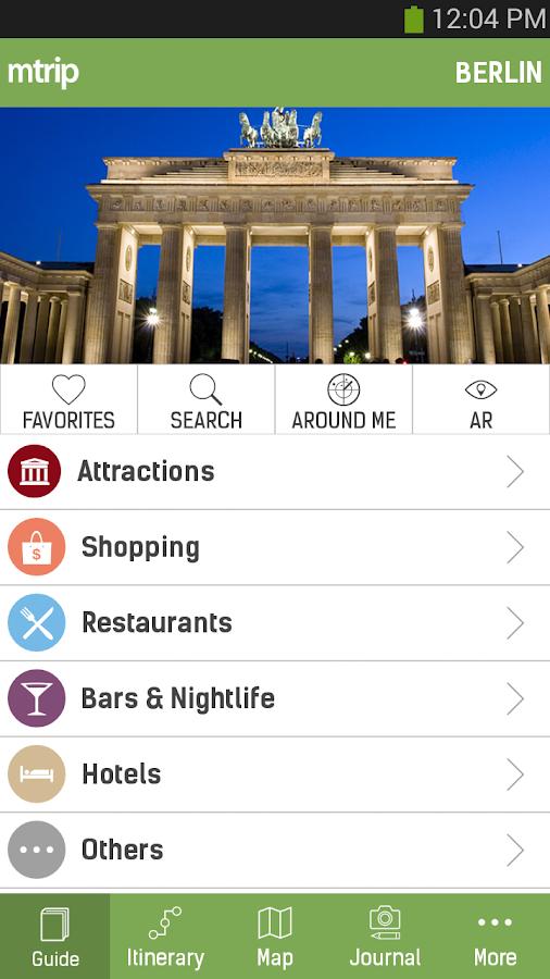 Berlin Travel Guide - mTrip- screenshot