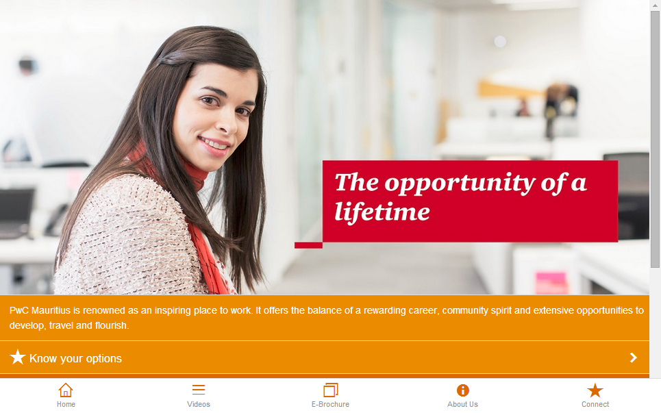 PwC Mauritius Recruitment - screenshot