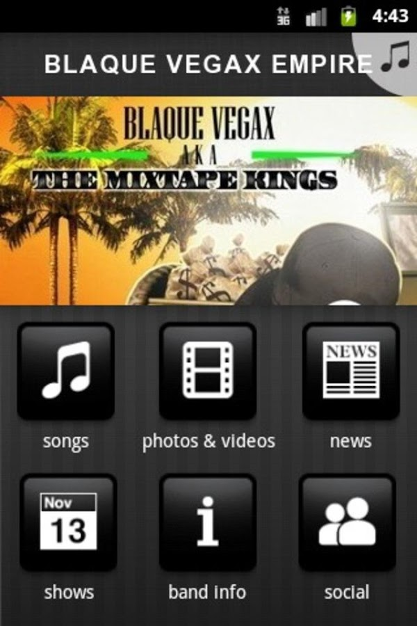 BLAQUE VEGAX EMPIRE - screenshot