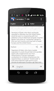 Free Download Italian-English translator APK