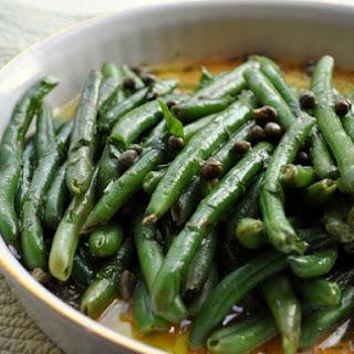 Haricot Verts with Sauce Ravigote