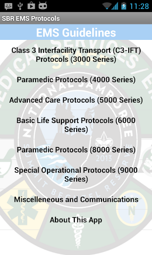 Summit Bechtel EMS Protocols